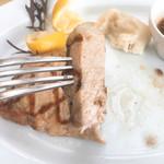 パーク・サイド・グリル - 鹿児島産黒豚  肉厚