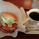 モスバーガー - (朝モス)モーニングバーガーB.L.T. ドリンクセット