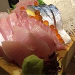 ニューワールド - 天然地魚の五種枡盛り
