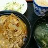 ビアン - 料理写真:この日は豚丼