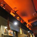 カラシビ味噌らー麺 鬼金棒 - 店内の様子