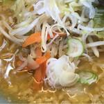 元吉田 - コテコテ味噌ラーメン(中麺)