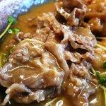 大和 - 牛肉(海老天カレーうどん)