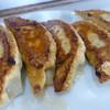 王様 - 料理写真:お肉たっぷりの大きな餃子