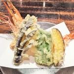 62930918 - 大海老と野菜の天ぷら