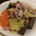 ビストロ・ボルドー - 野菜とベーコンのブレゼ
