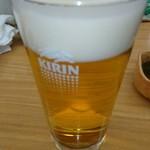 62932418 - 朝から生ビール