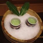九兵衛旅館 - 水菜の野菜ジュース