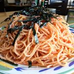 ずう - めんたいスパゲティー(大盛)900円
