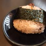 神代そば - 蕎麦味噌おにぎり180円