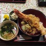 はなぶさ - ドデカえび丼   ¥1500