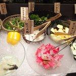 スープカレーと季節野菜ダイニング 彩 - 彩スープカレー&野菜ビュッフェセット 1500円 → 1000円 の野菜ビュッフェ