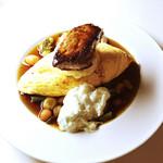 ディッシュ - 料理写真:フォアグラとアボカドクリームのオムライス