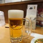 味の牛たん 喜助 - 生ビール