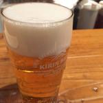 ロイヤルガーデンカフェ - 生ビール