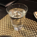 炭火焼鳥あずま - 鍋ならばと日本酒(八海山)に