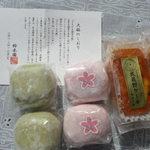 鈴木園 - 2017,2 抹茶大福、さくらあん大福、武蔵野パウンドケーキ