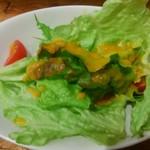 ガリーレ - セットのサラダ
