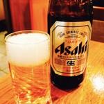 62945720 - 鰻と言えばビールでしょ♡