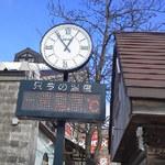 Otaruorizushi - 運河にある温度計