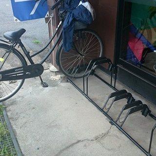 自転車置き場を新設しました!