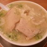 なおちゃんラーメン - ワンタン麺