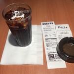 ドトールコーヒーショップ - アイスコーヒー(S)220円