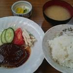 田中食堂 - ハンバーグ定食