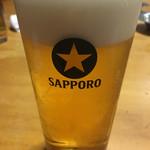 笹新 - 絶品生ビール