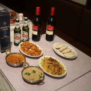 辛すぎずマイルドな味わいの南インド&北インド料理を堪能♪