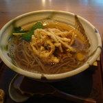 あんばい - ごぼうかき揚げ蕎麦