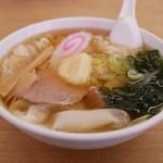 足利麺 - 料理写真:ひもかわらあめん