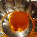銀座 ハプスブルク・ファイルヒェン - 口直しの人参とオレンジのシャーベット
