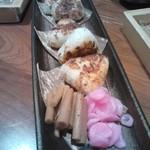 えん - 赤魚の?焼きおにぎり。うまいです。