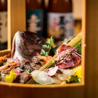 《絶品!汐彩の宴会コース》旬の鮮魚のみを厳選した創作和食