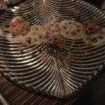 62967436 - 蓮根と鮮魚のカルパッチョ(1人分)