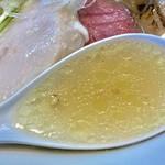 千茶屋 - 美しい塩スープリフト【料理】