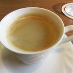 シュタットマインツ - 最後にコーヒーを頂きました♪ +300円で、デザートも付けられます。