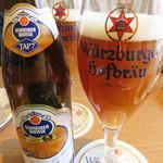 シュタットマインツ - ドイツビールのメニューは350mlだと3種類、500mlだと13種類あります。
