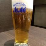 Tonkatsuhamakatsu - 生ビール(324円)