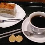 Paul Bassett - [料理] ケーキセット¥850 全景♪w