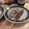 ちくぜん - 料理写真:砂肝、レバー