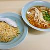 ラーメン亭 - 料理写真:ラーメン(醤油) チャーハン  ワンコイン(´༎ຶོρ༎ຶོ`)