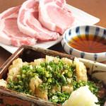 みの原 - ねぎ豚780円