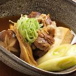 みの原 - 黒毛和牛牛筋豆腐880円