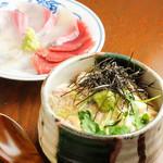 みの原 - 鯛茶風胡麻茶漬け800円