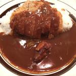 カレー専門店 クラウンエース - カツカレー(500円)