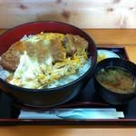 レストハウス舞子 - 2012/07 上かつ丼¥1,050