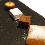 ゴーシェ - 87コース 9200円 の小菓子