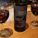 トムボーイ - 赤ワインボトル